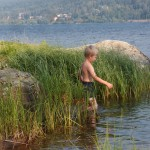 I vattnet