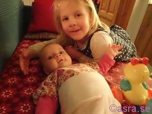 Amanda och Heidi