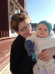 Heidi och mormor