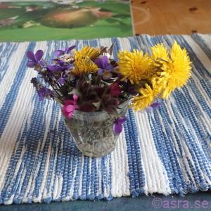 Så fina blommor man får när man har barn i huset!